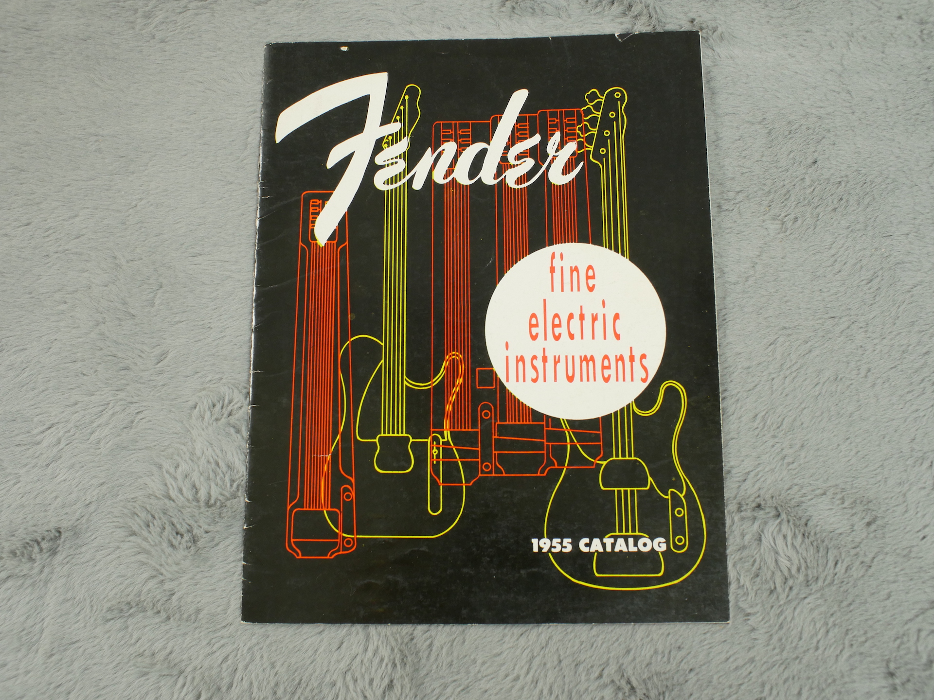 1955 Fender Full Catalogue