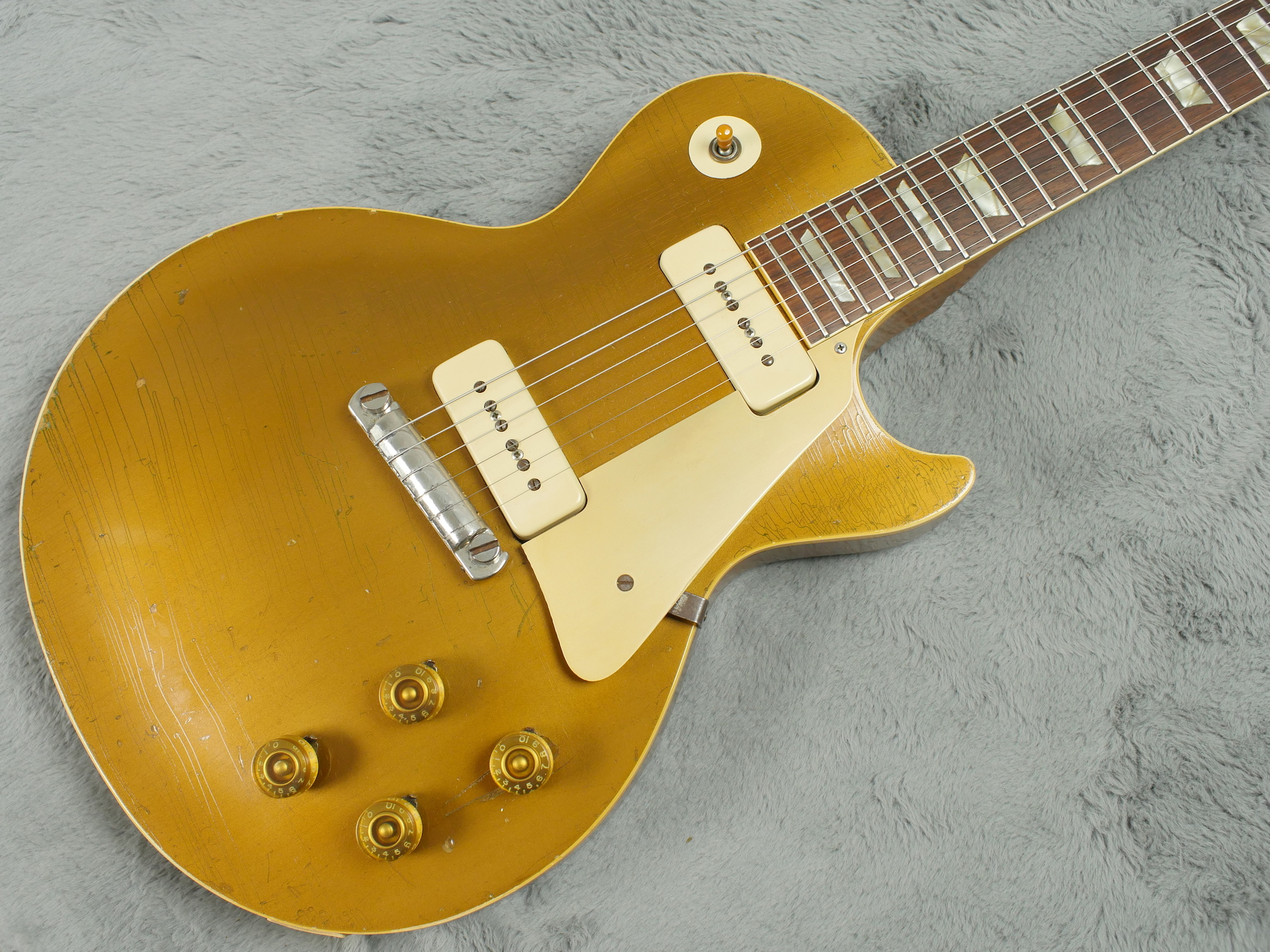 1953 (late) Gibson Les Paul Standard Goldtop + OHSC