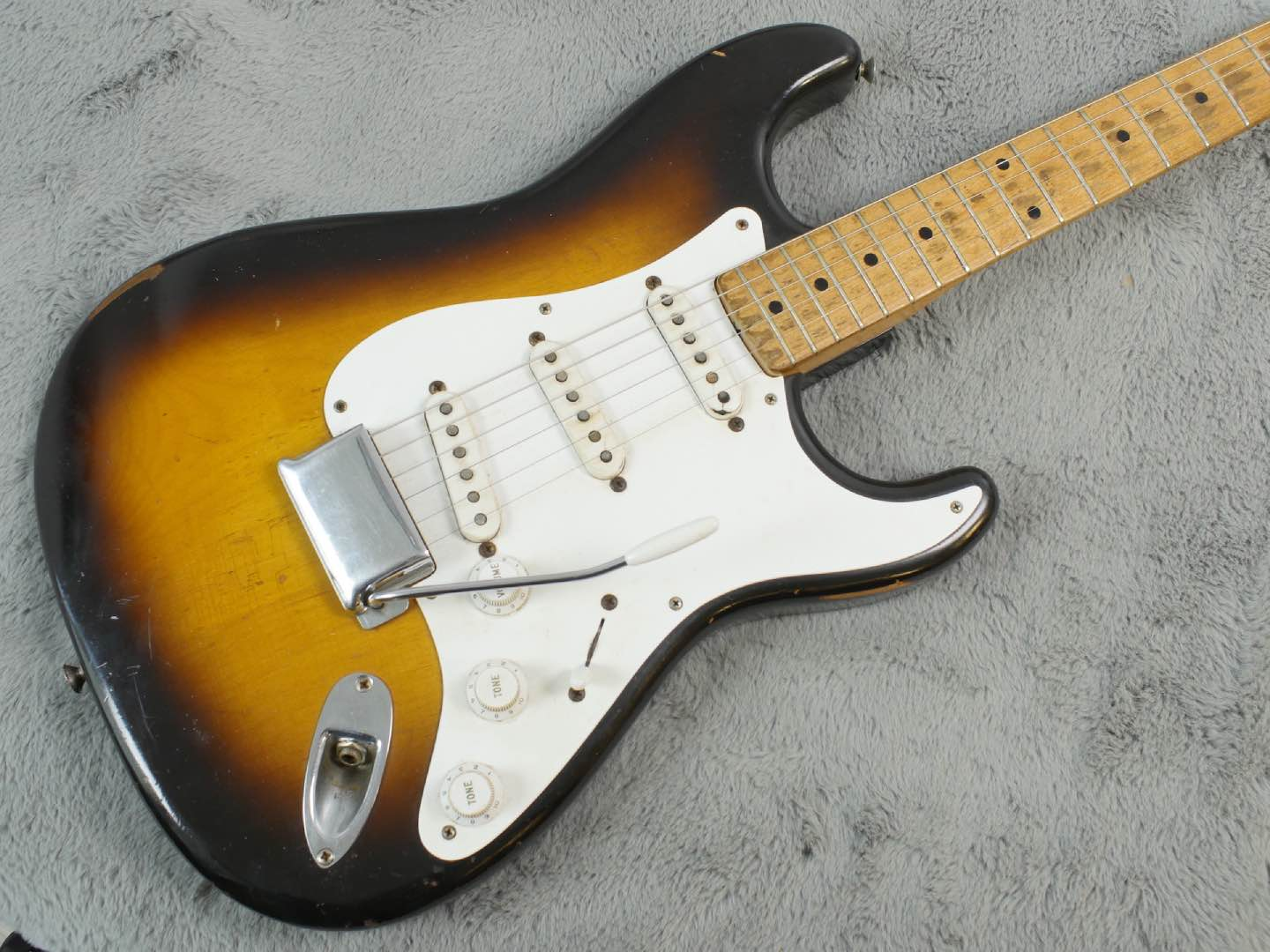 1956 Fender Stratocaster 'Brownie' dates + OHSC