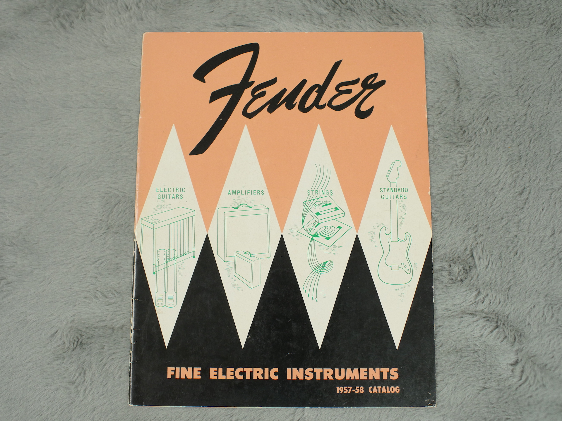1957-58 Fender Full Catalogue