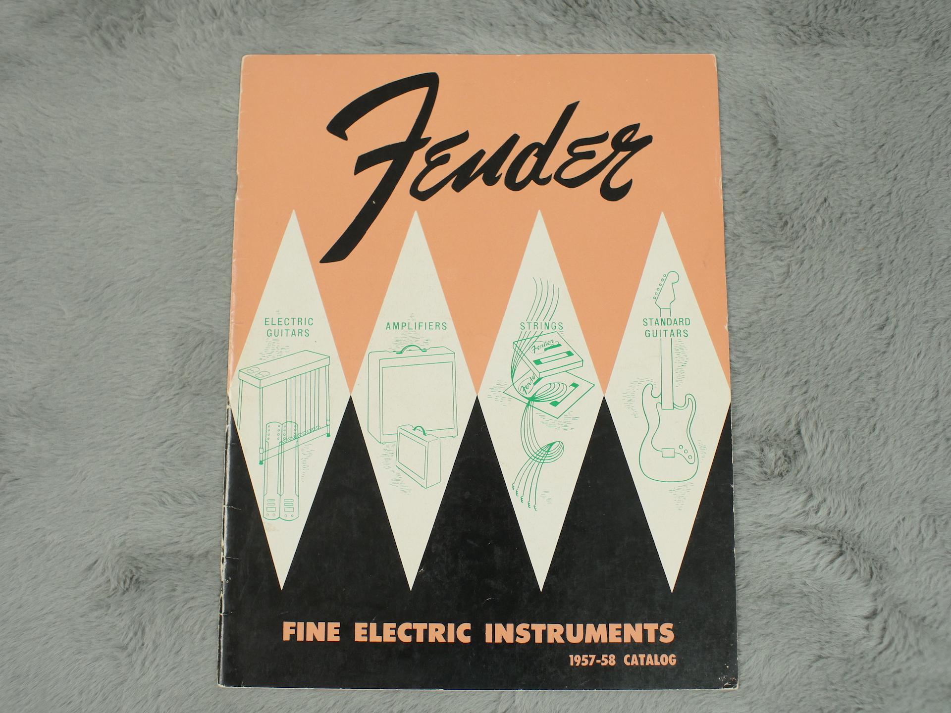 1957-58 Fender Full Catalogue