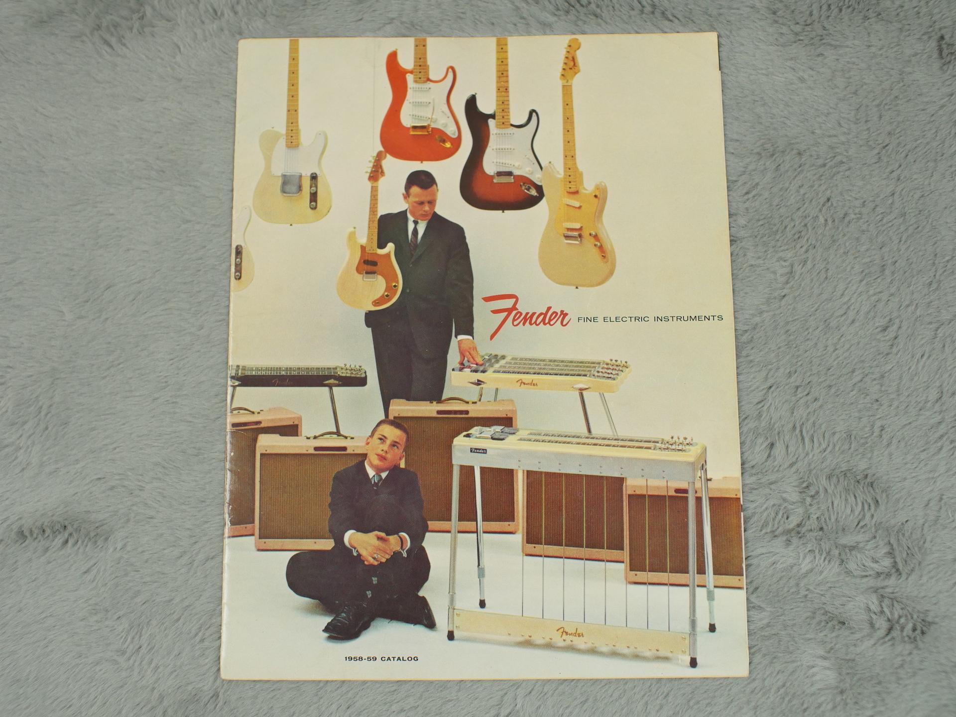 1958-59 Fender Full Catalogue