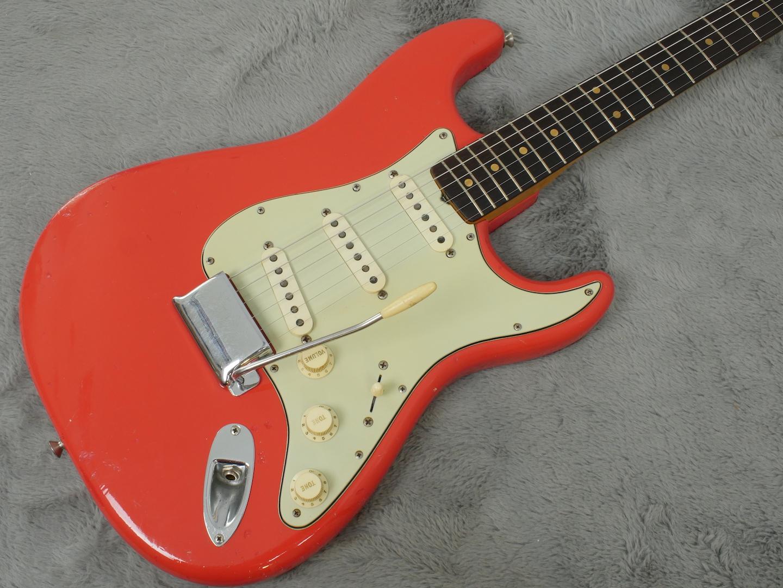 1962 Fender Stratocaster Fiesta Red + OHSC