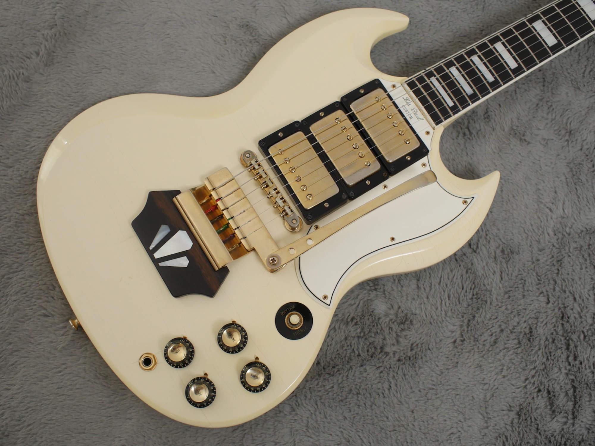 1962 Gibson Les Paul Sg Custom Ebony Block Ohsc Atb Guitars Wiring Harness Uk
