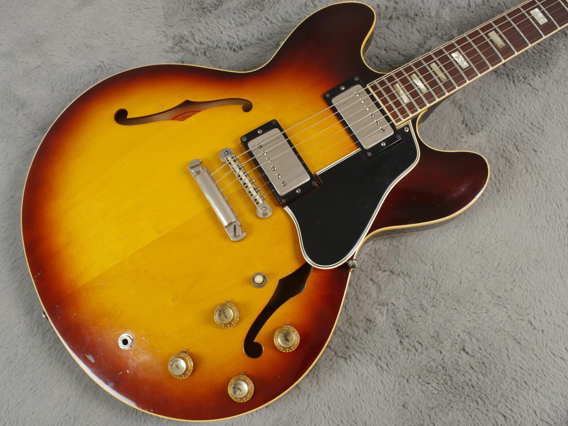 1964 Gibson ES-335 TD + OHSC Nr MINT