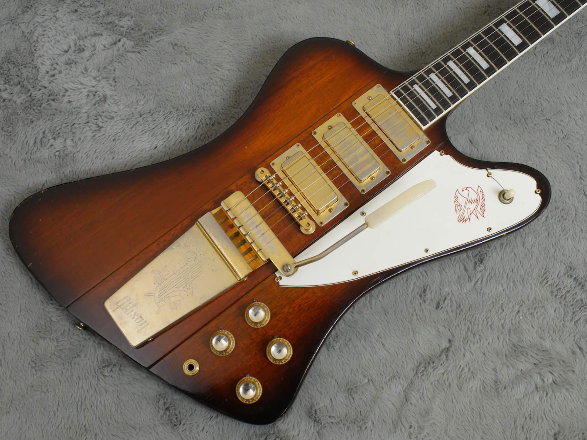 1964 Reverse Body Gibson Firebird VII + OHSC