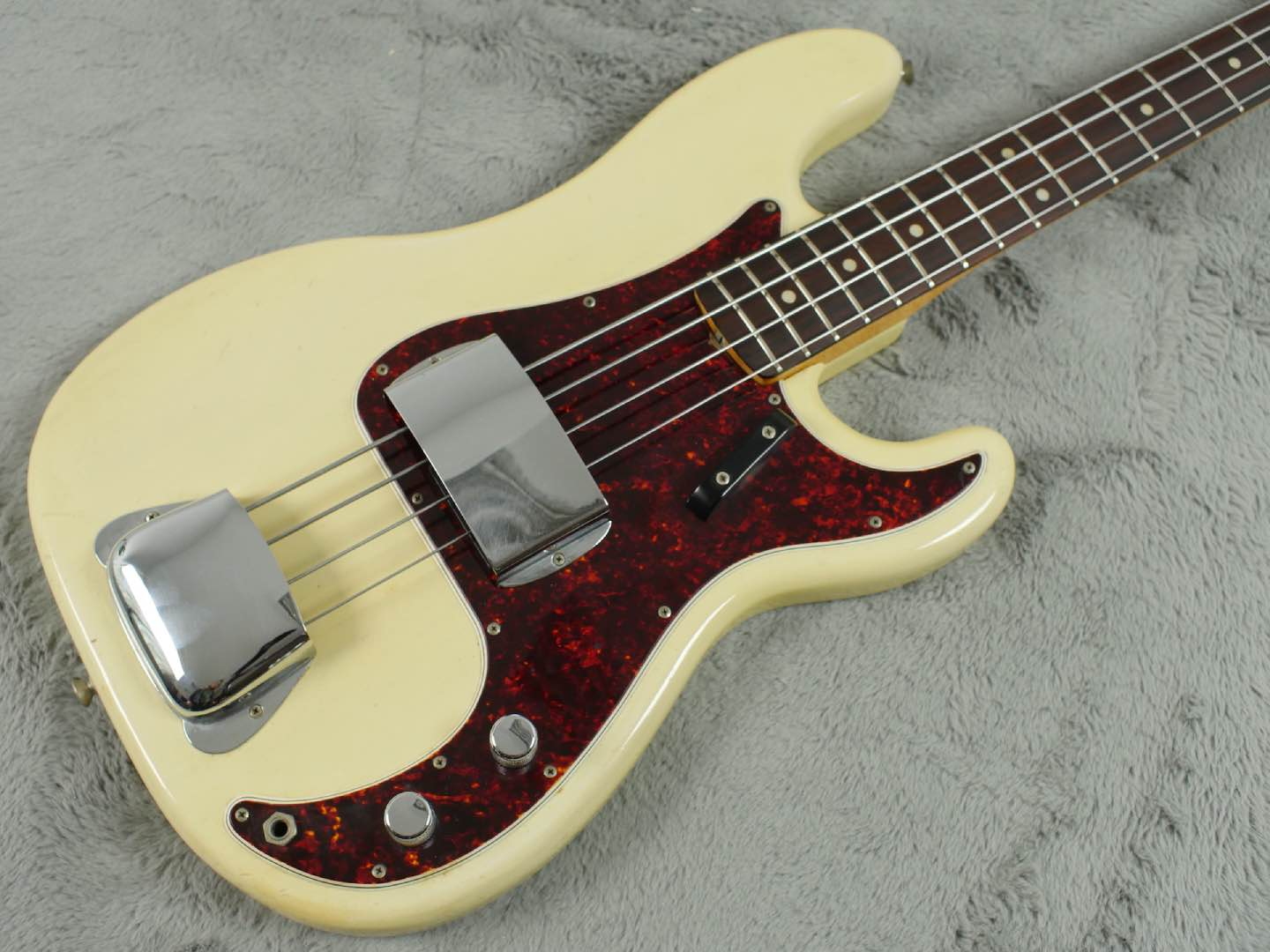 1966 Fender Precision Bass rare Blonde + Export HSC