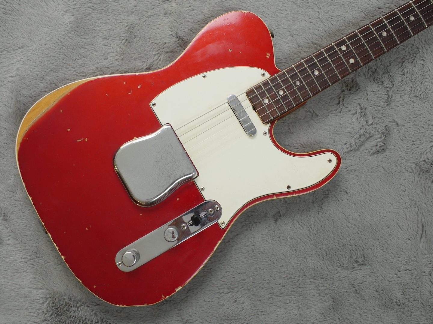 1967 Fender Custom Telecaster Candy Apple Red + OHSC