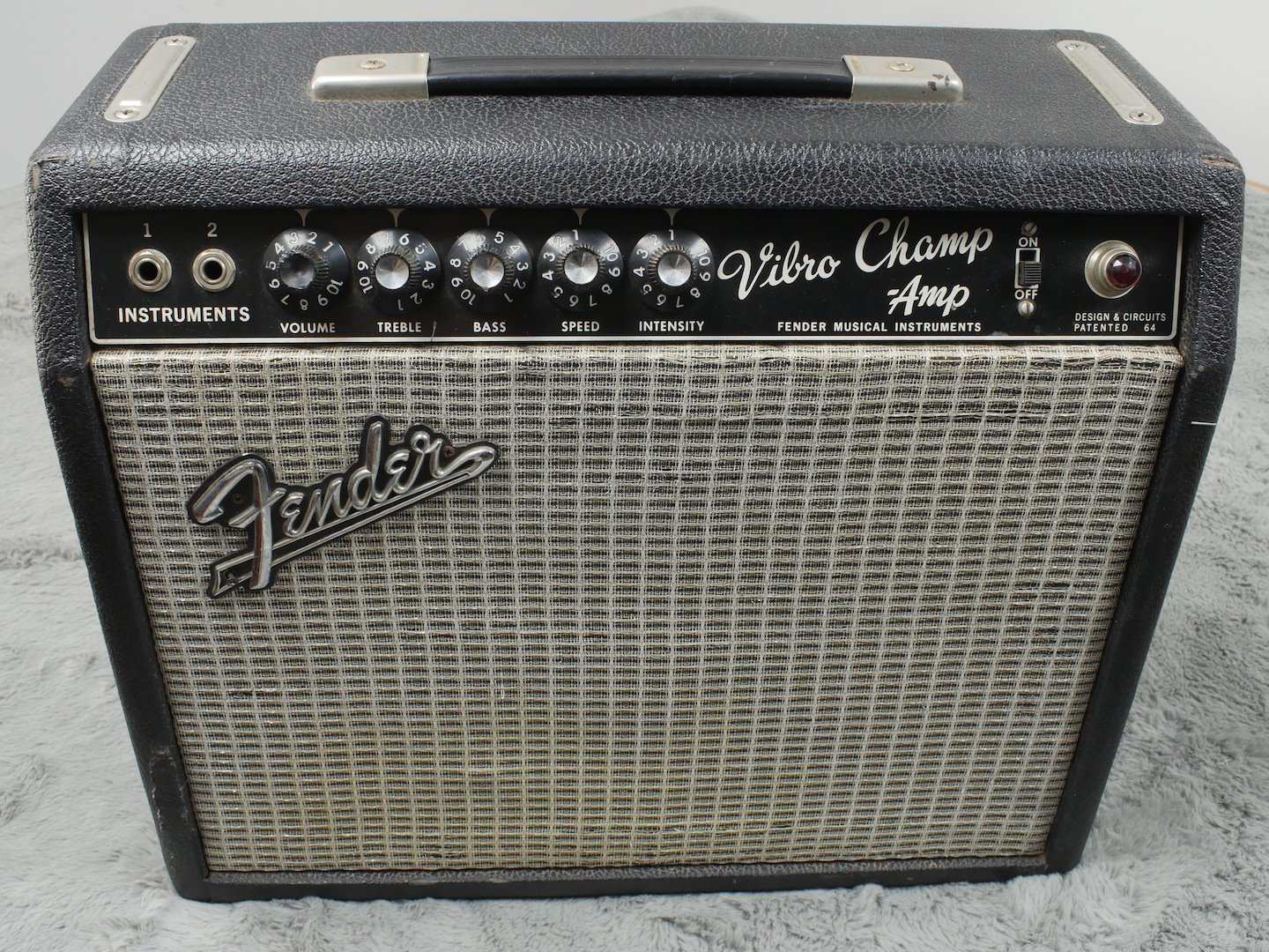 1967 Fender Vibrochamp
