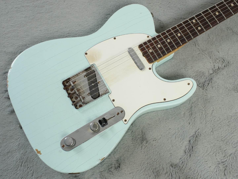 1969 Fender Telecaster Sonic Blue + OHSC