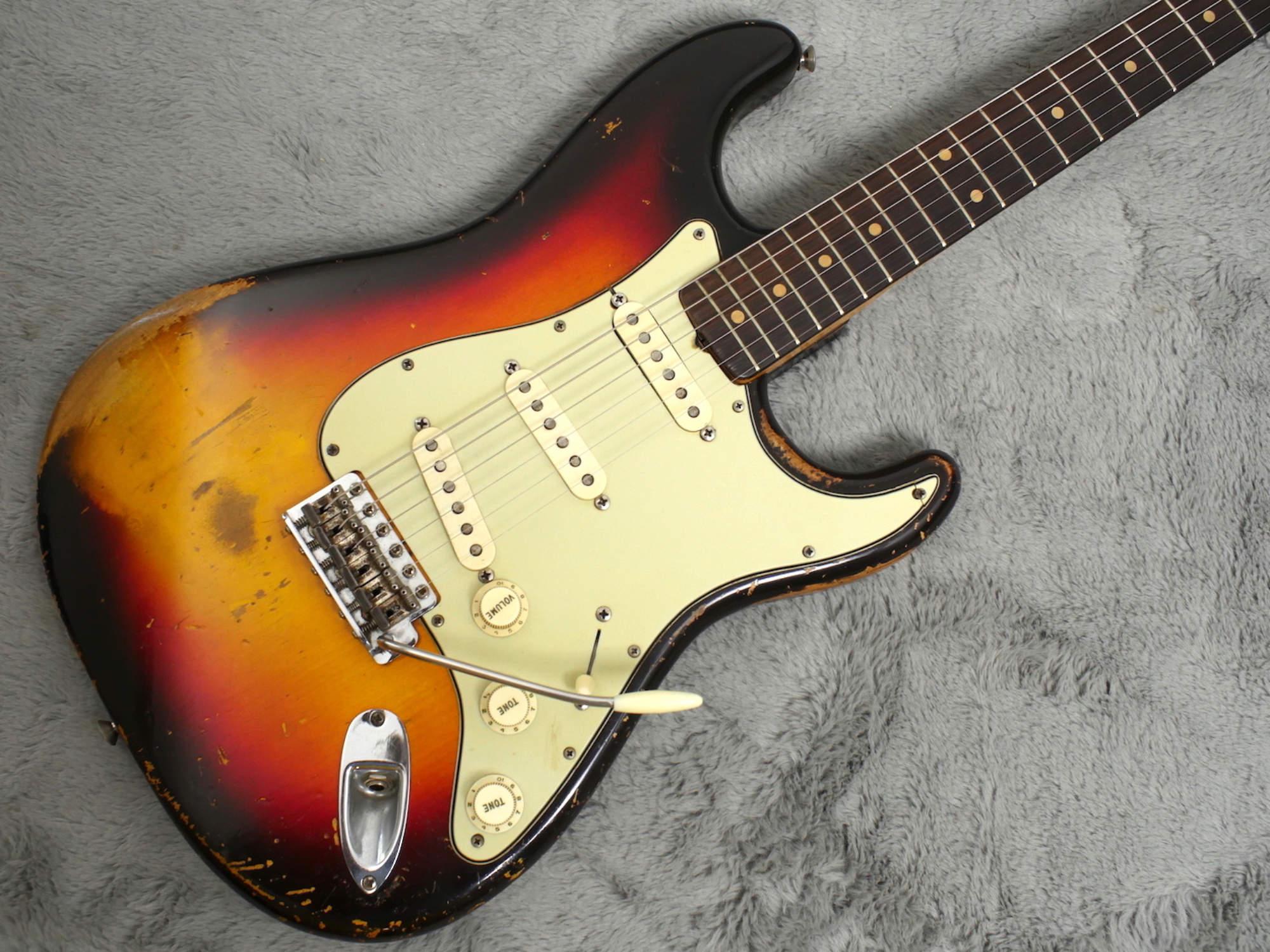 1961 Fender Slab Board Stratocaster + OHSC