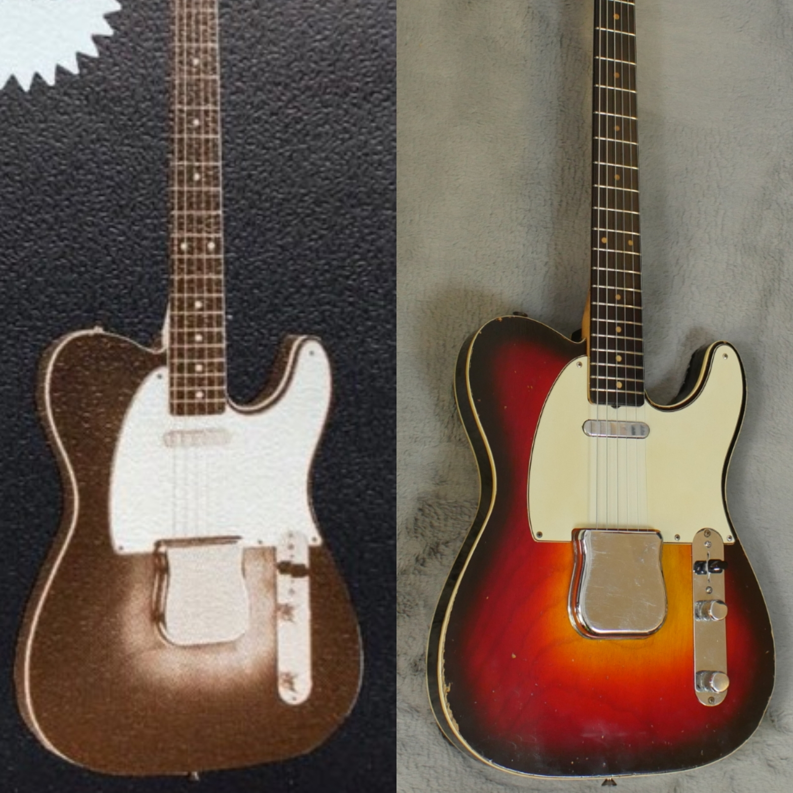58/59 Custom Telecaster Resurfaces as Helen of Fullerton