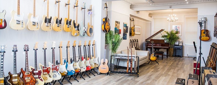 ATB Guitars, Cheltenham UK